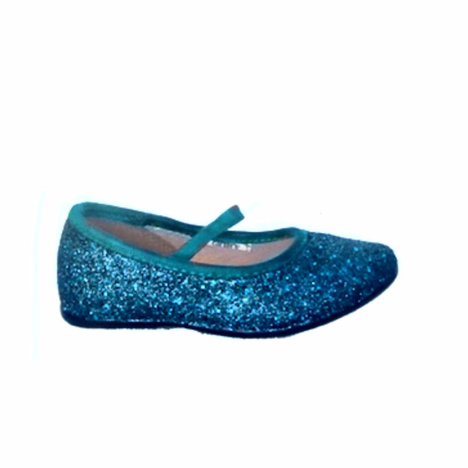 70194047b ... Sparkly Glitter Ballet Flats Shoes Birthday Flower Baby Girl Toddler  Newborn Teal ...