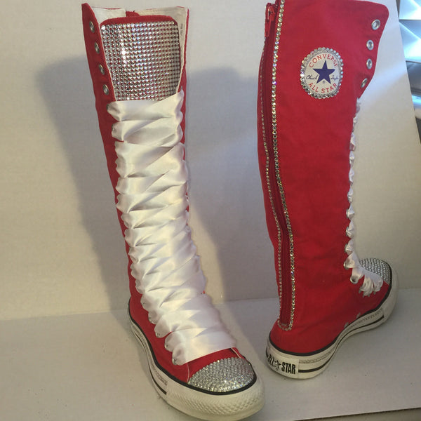 Knee High lace up Converse All Star