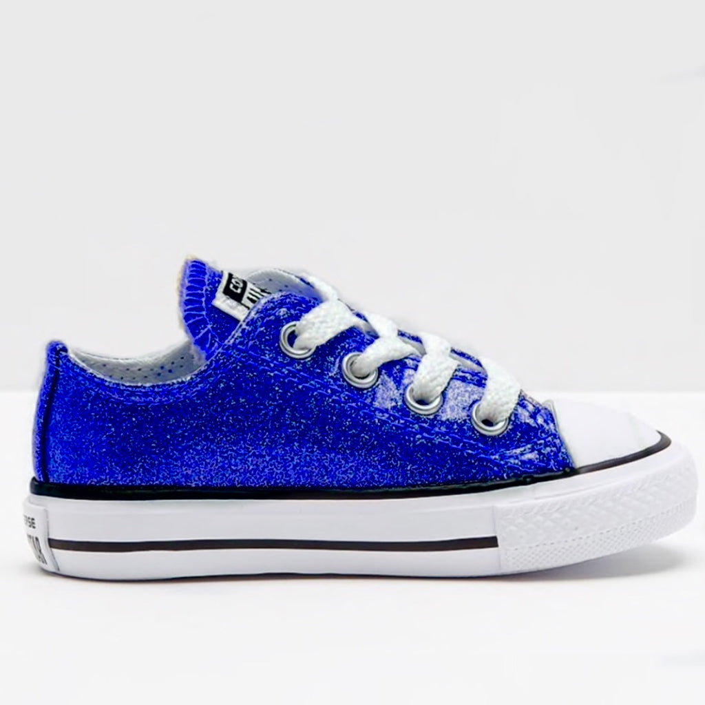 Blue Sparkly Sneakers – Fashion dresses