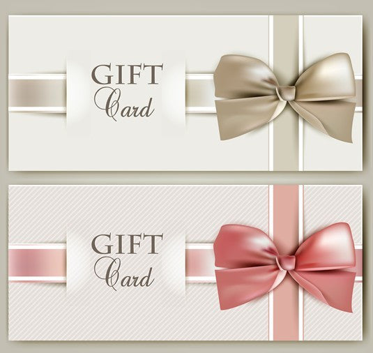 Gift Card Voucher Christmas Present Happy Holidays - Glitter Shoe Co