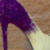 Sparkly White Purple ombre Glitter high & Low Heels wedding bride Peep toe or Pumps shoes - Glitter Shoe Co