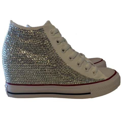 Converse all stars wedge sneakers heels bling crystals png 480x480 Converse  wedding shoes d9b94f4457