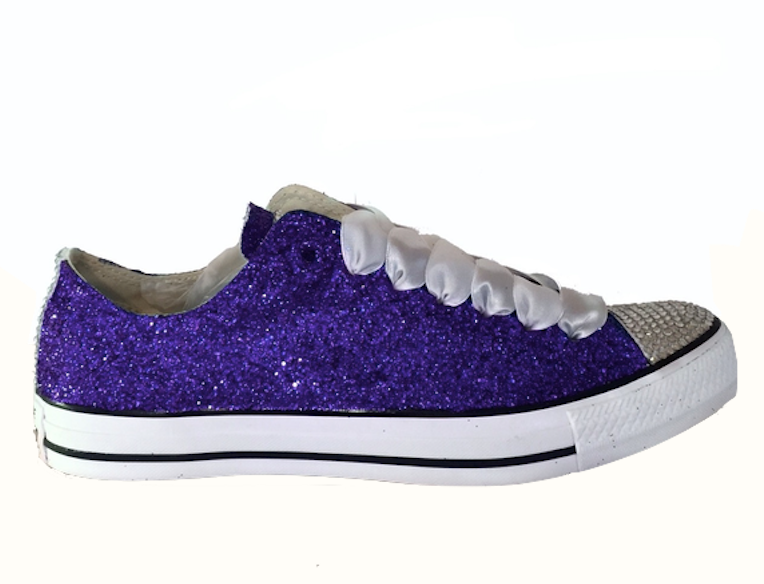 05be5d565674 Purple Converse All Star Girls Boys Shoes Custom Adventure Time Design Hand  Painted Shoes Women Men