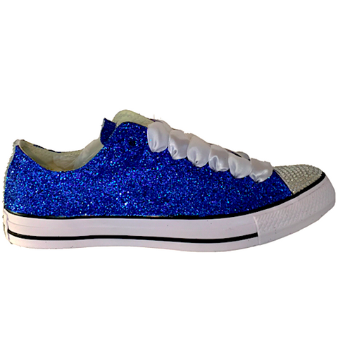Blue Sparkly Sneakers Other dresses dressesss 4195b7d963