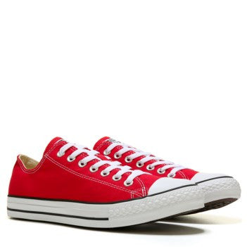 Mens Converse All Star Red White Classic Sneakers Shoes Personalized wedding Groom