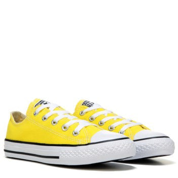 Mens Converse All Star Yellow Classic Sneakers Shoes Personalized wedding  Groom 342bff2e5