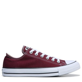 Mens Converse All Star Burgundy White Classic Sneakers Shoes Personalized wedding Groom