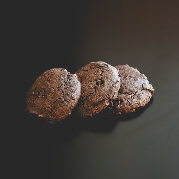 Biscuit double chocolat