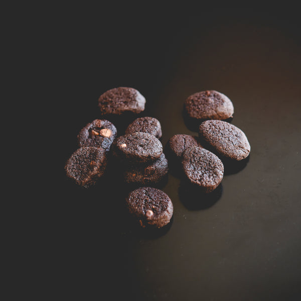 Mini biscuits double chocolat (150g)