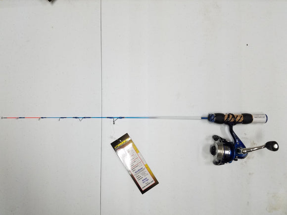 HT Ice Blue Pro Ice Fishing Combo, 26