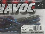 "Berkley Havoc Federale, 10"" Worm, Bama Bug"