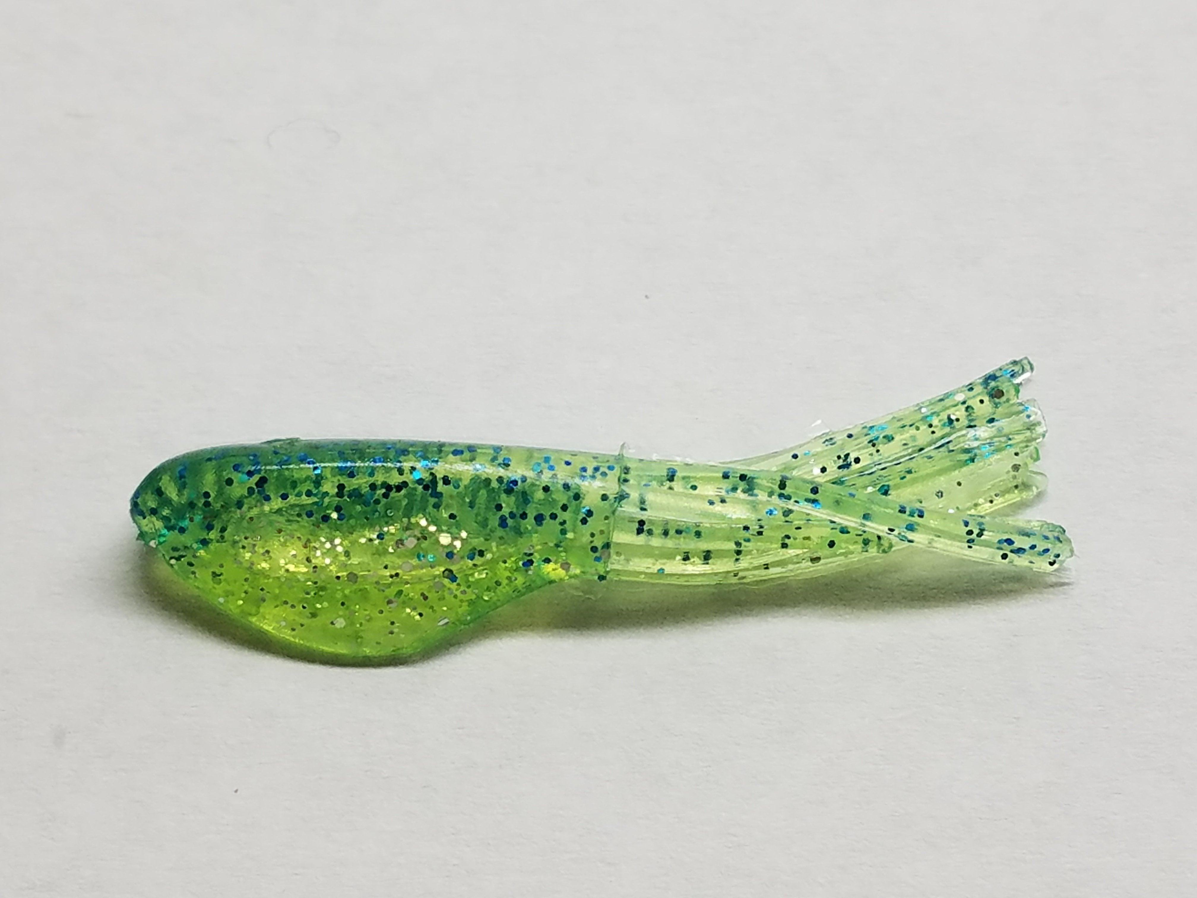 Panfish Lure Green Chart Johnson Crappie Buster Shad Tubes Bait