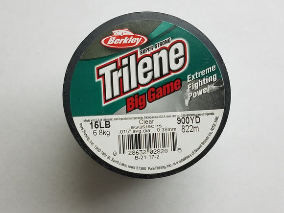 Berkley Trilene Big Game Fishing Line