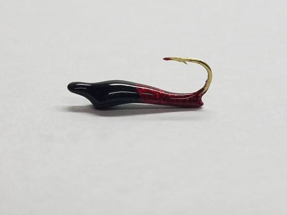 Icicle Jigs - Black/Red
