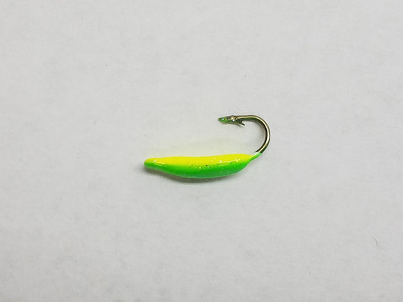 Swim Jig - Ice Jig - Chartreuse/Green