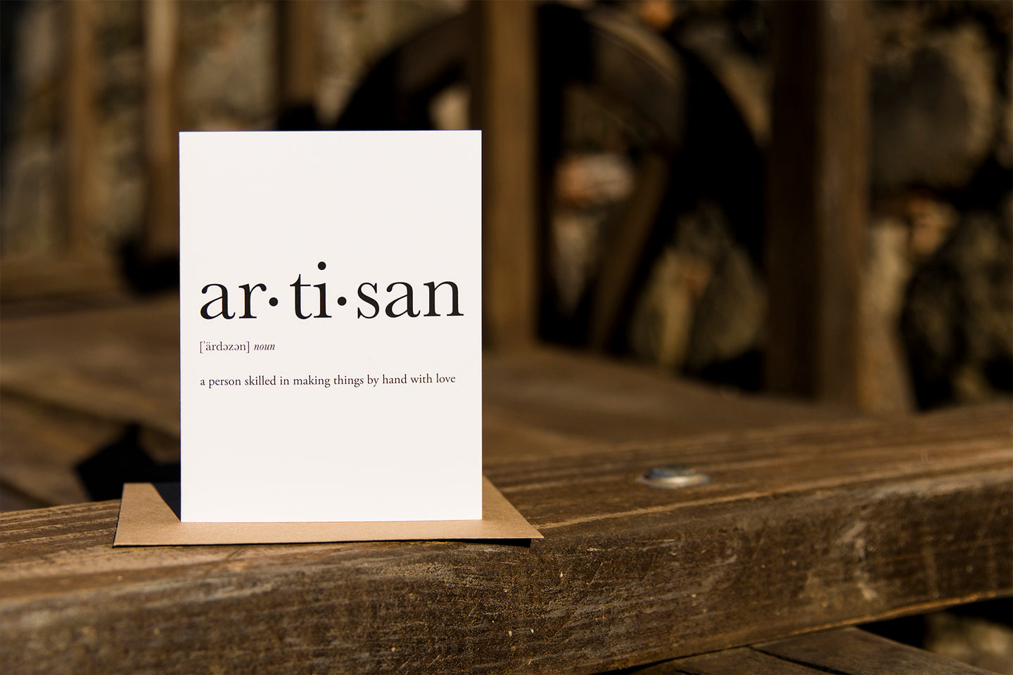 Artisan - Profession Cards