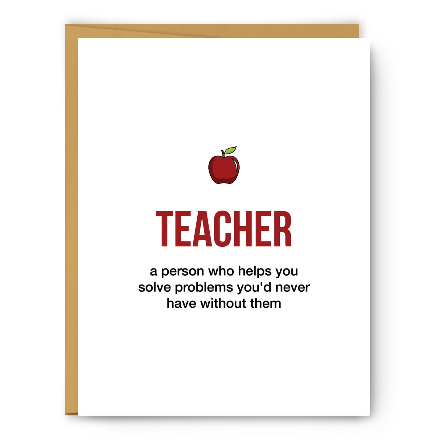 Teacher Definition Illustration - Unframed Art Print Poster Or Greeting Card