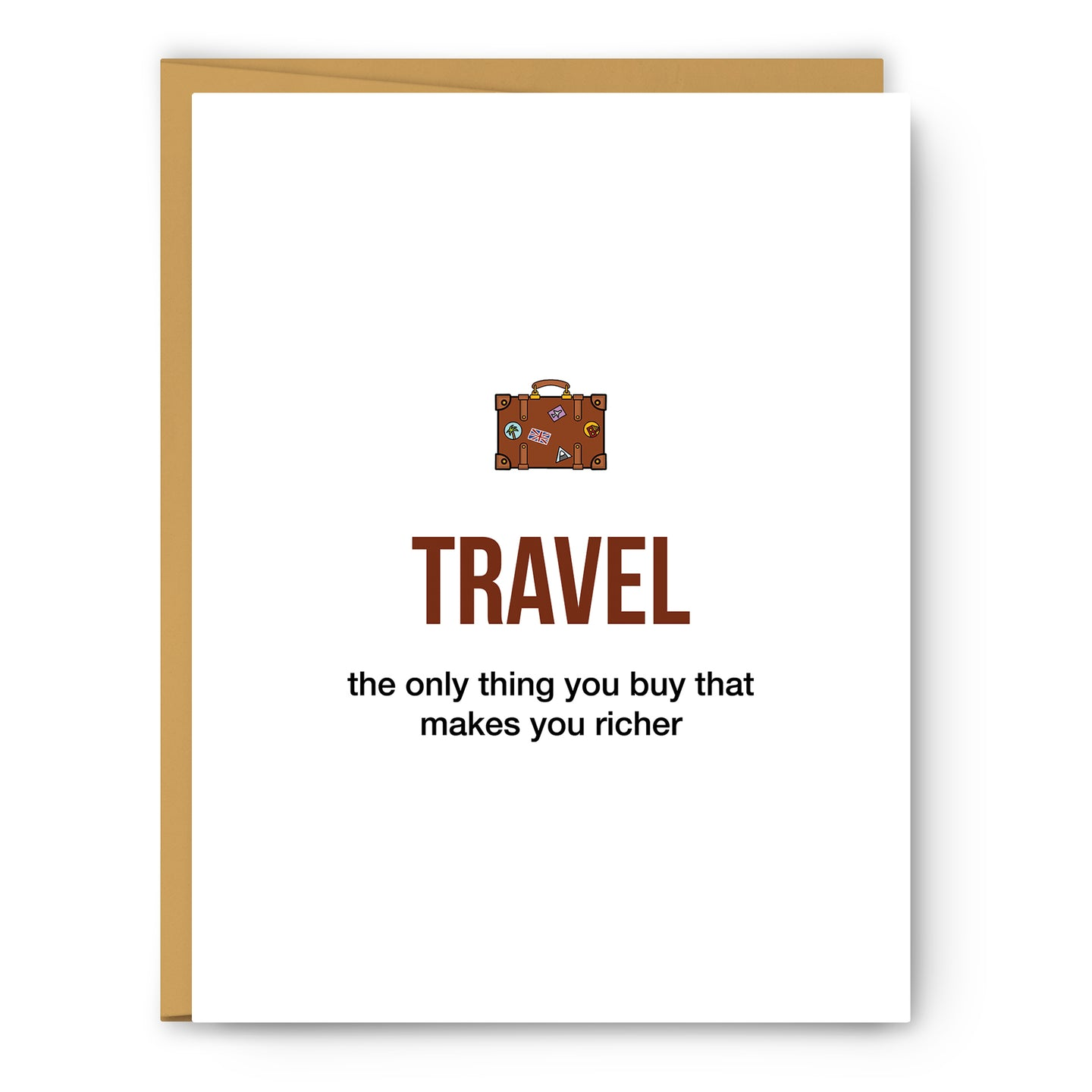 Travel Definition Illustration - Unframed Art Print Poster Or Greeting Card