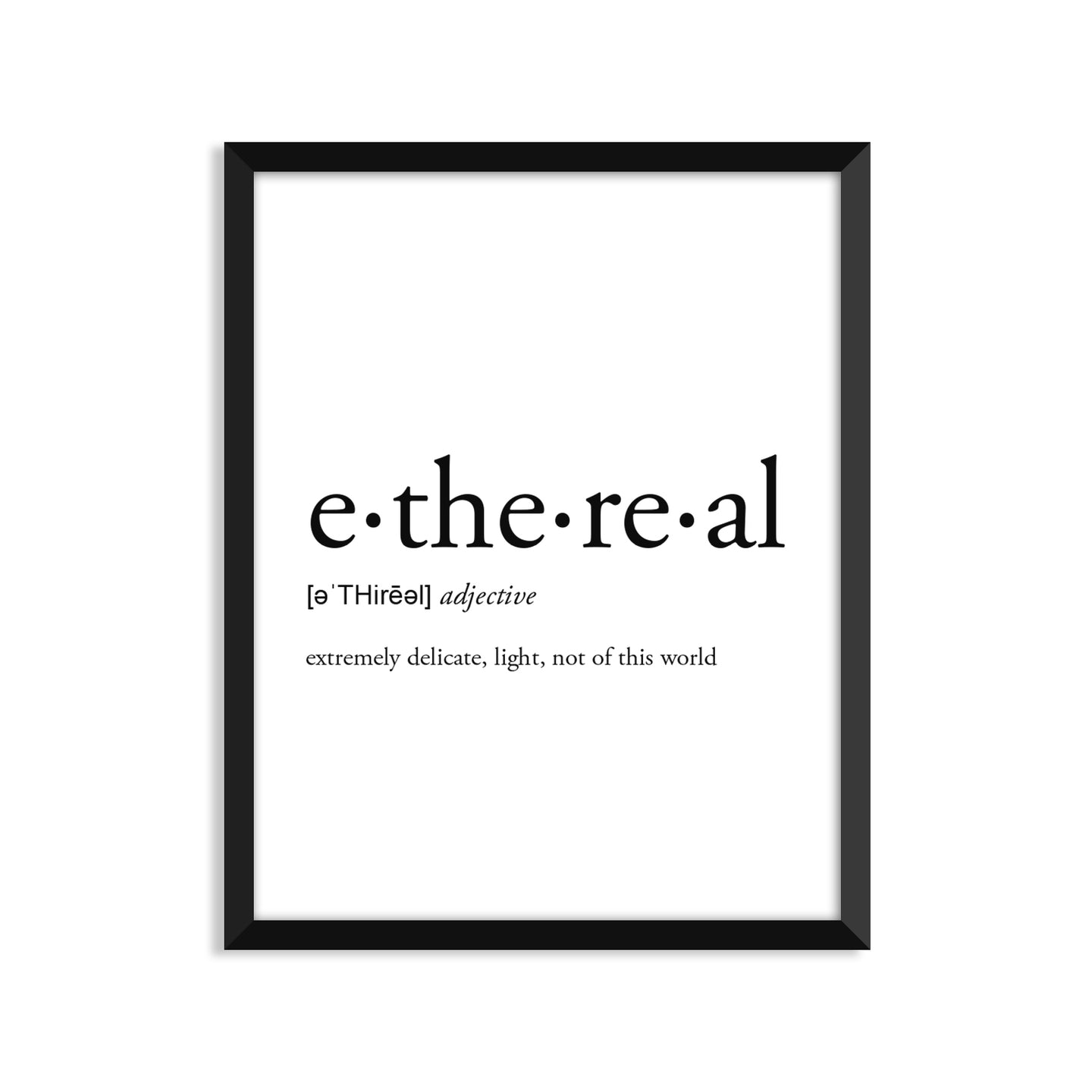 Ethereal Definition - Unframed Art Print Or Greeting Card