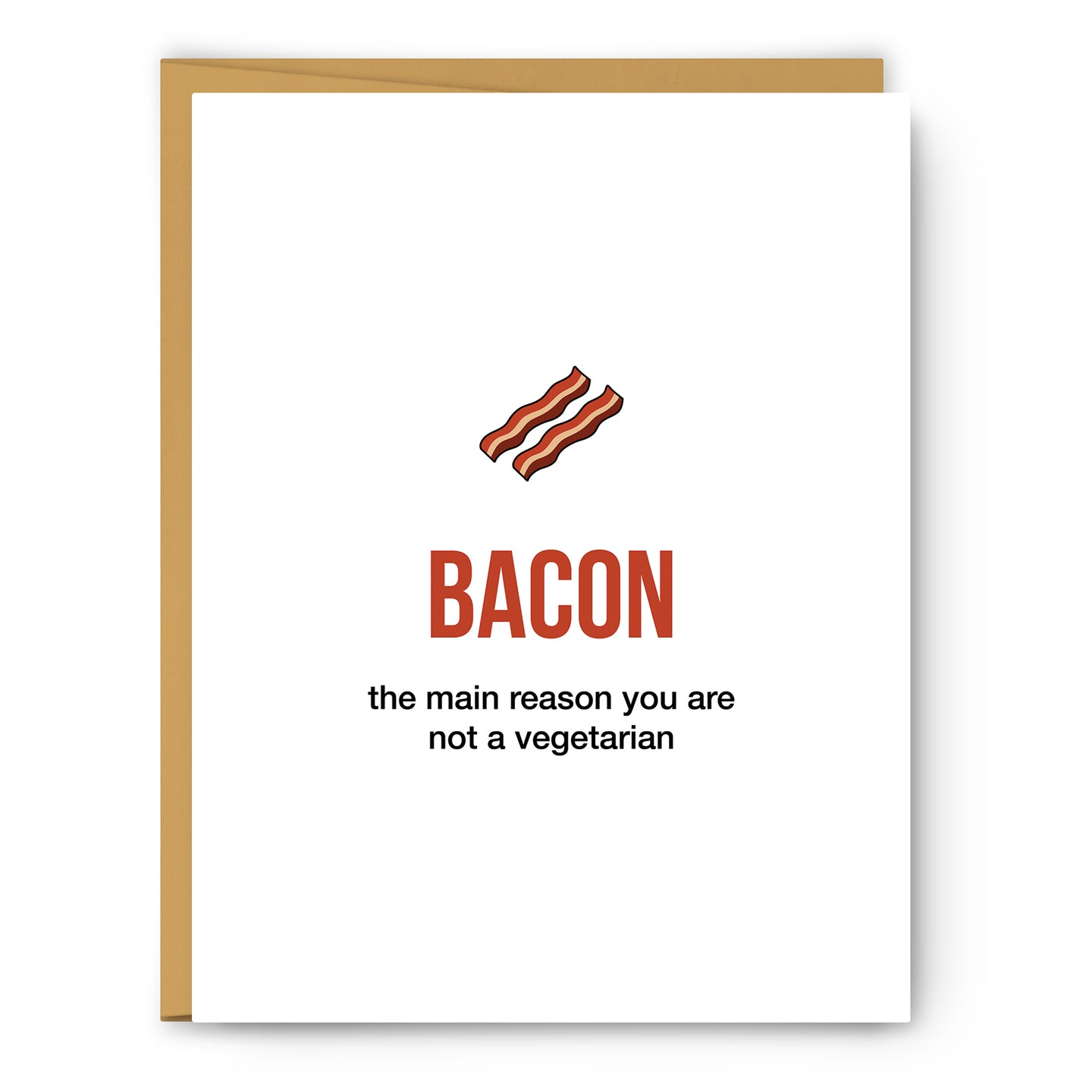Bacon Definition Illustration - Unframed Art Print Poster Or Greeting Card