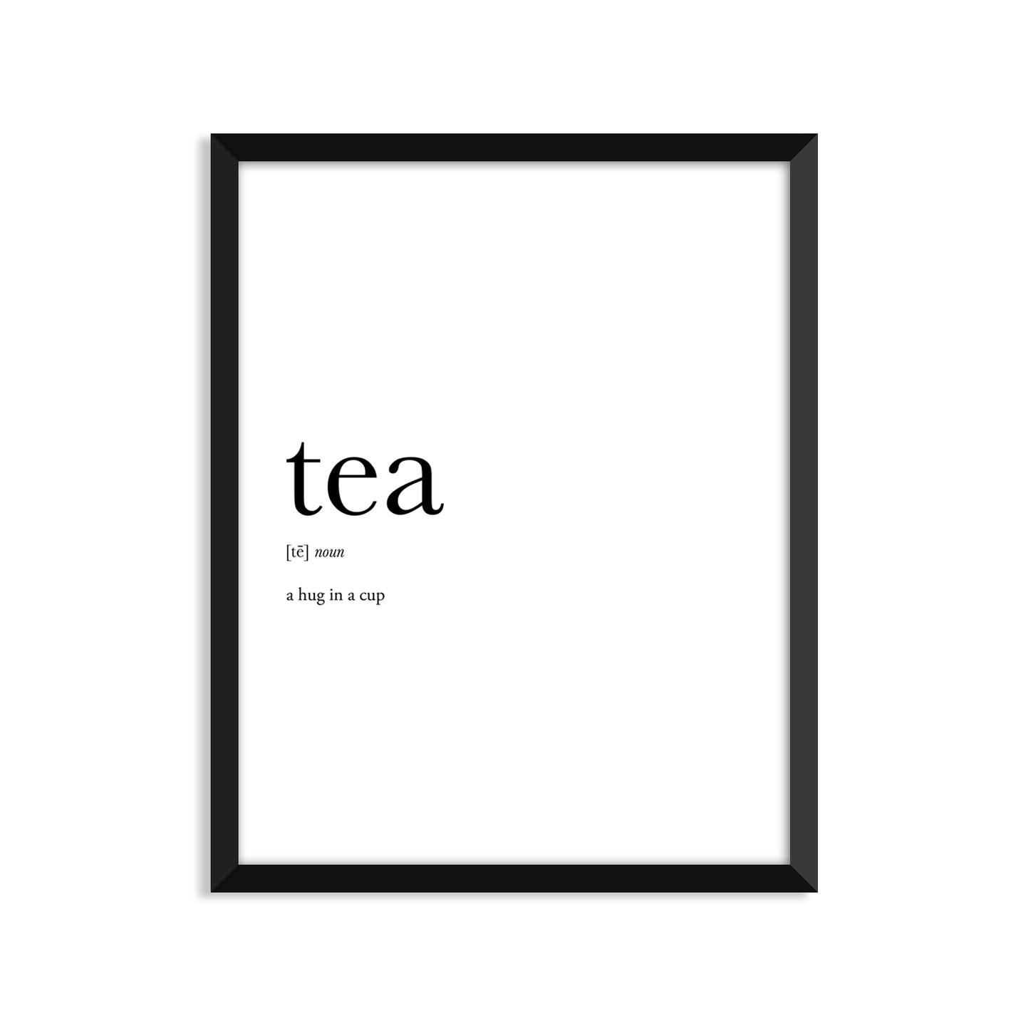 Tea Definition - Unframed Art Print Or Greeting Card