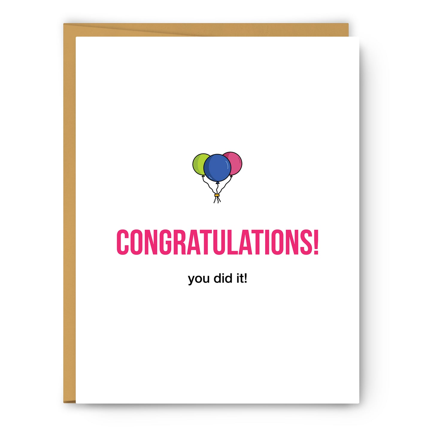Congratulations Definition Illustration - Unframed Art Print Poster Or Greeting Card