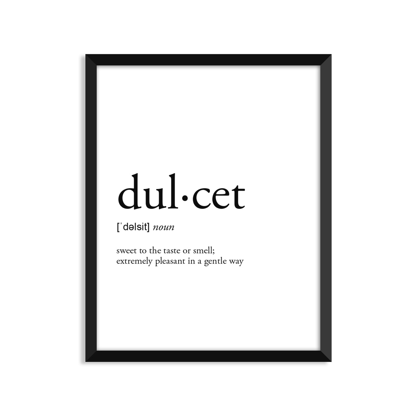 Dulcet Definition - Unframed Art Print Or Greeting Card
