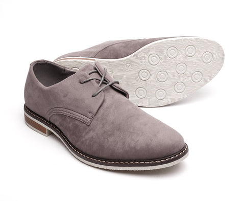 suede desert shoe lace-uo in grey gatsby shoes size 6 7 8 9 10 11 12 mens