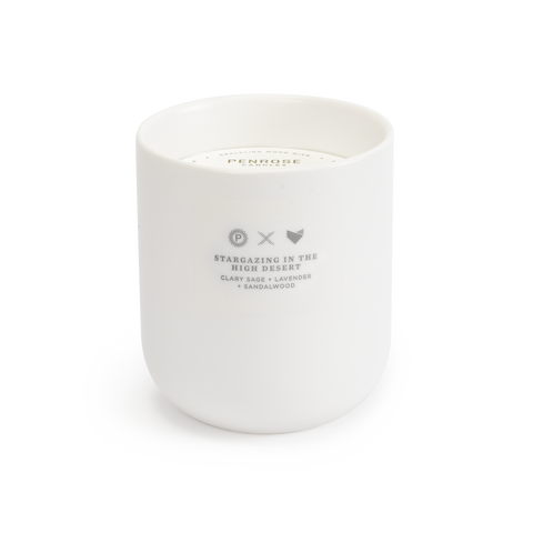 Scents of Oregon: High Desert Ceramic Candle -WS