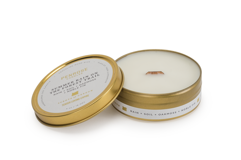 Scents of Oregon: Summer Rain Travel Candle -WS