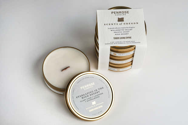 Scents of Oregon: Travel Candle Gift Set 1