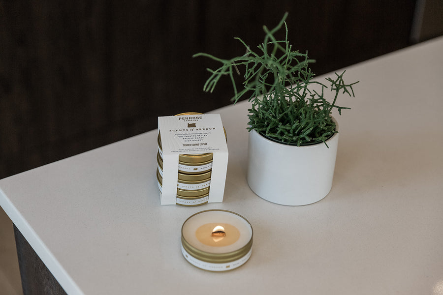 Scents of Oregon: Travel Candle Gift Set