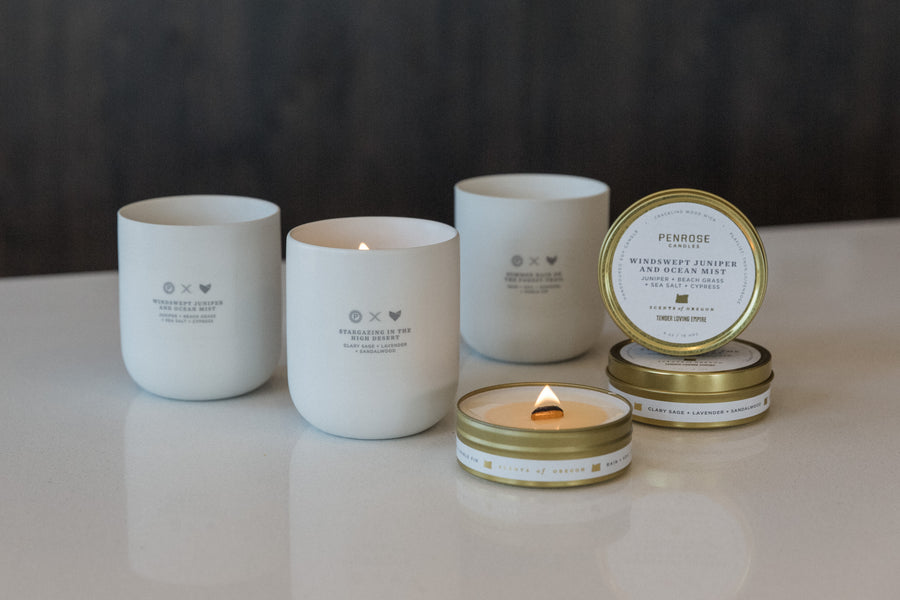 Scents of Oregon: Valley Travel Candle