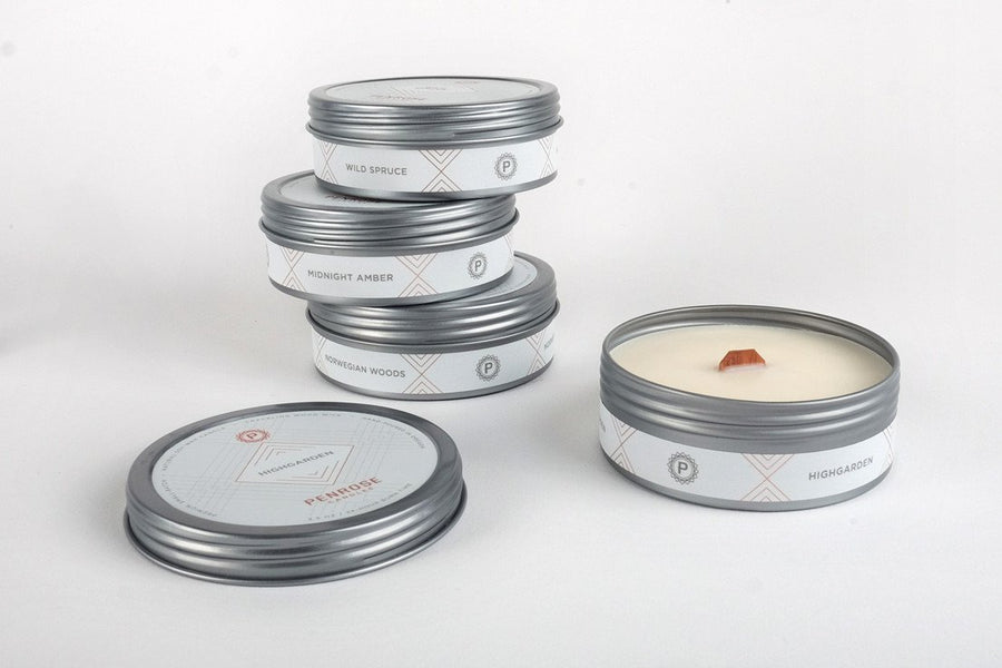 Auburn Dusk Travel Candle