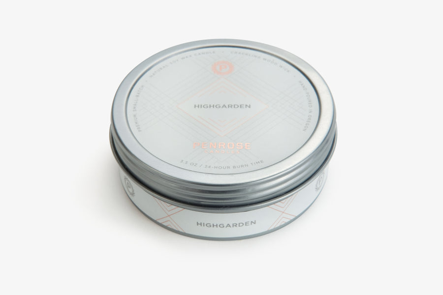 Highgarden Travel Candle
