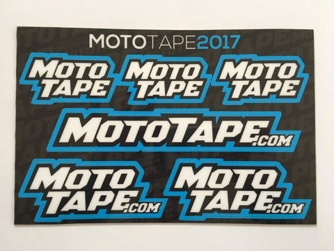 MotoTape® Decal Sheet - MotoTape