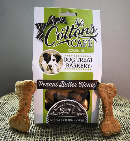 8 oz. Peanut Butter Honey Dog Treats