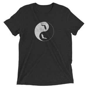 YIN YANG FLORIDA - Short sleeve unisex t-shirt