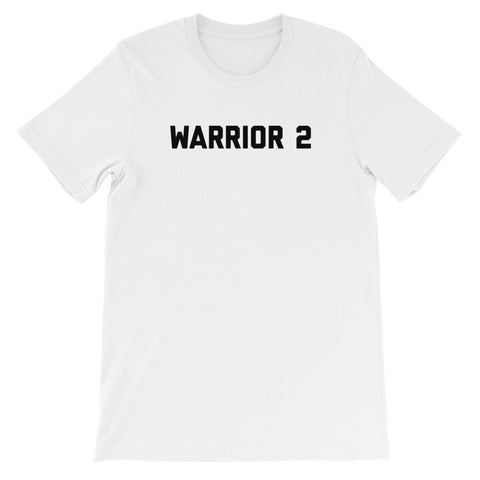 Warrior 2 - Unisex short sleeve t-shirt