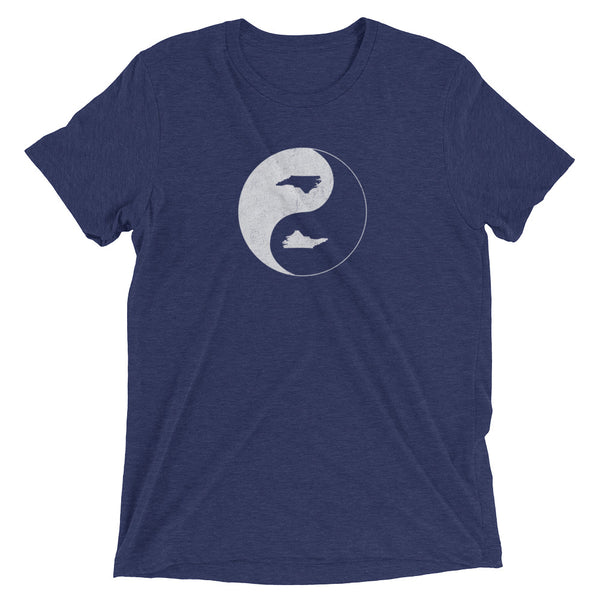 YIN YANG North Carolina - Short sleeve unisex t-shirt