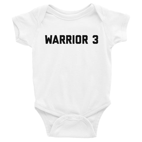 Warrior 3 - Infant Bodysuit