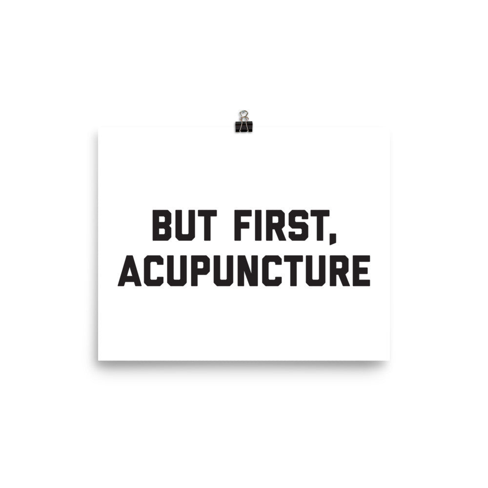 ACUPUNCTURE - Poster
