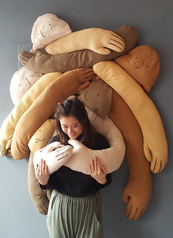 allison tran cuddle wall installation