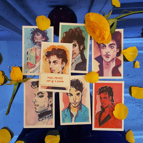 Jess Ruliffson: Mini Prince Prints