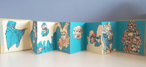 Diana Ho: Carnival Accordion Book