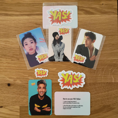 Diana Ho: YAS! Stickers