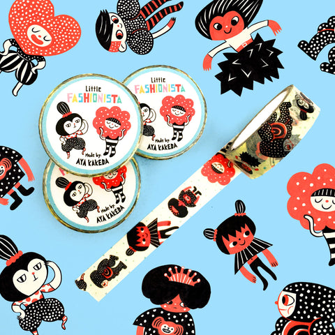 Aya Kakeda: Little Fashionista Washi Tape