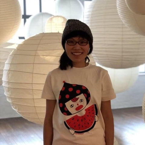 Aya Kakeda: Watermelon T-shirt