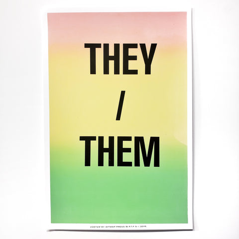 Bitmap Press: Pronoun Prints
