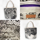 Come Out To The Coast: Printed Canvas Tote